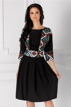 Rochii cu Imprimeuri Skater Dress, Fashion Dresses, Womens Fashion, Spandex, Outfits, Vestidos, Cute, Clothing, Fashion Show Dresses