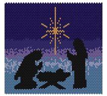 Nativity+-+Peyote at Sova-Enterprises.com