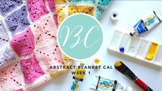 CROCHET ALONG: Abstract Blanket Week 1 | Bella Coco
