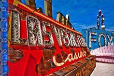 Visit the Las Vegas Neon Sign Graveyard