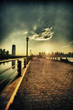 Liberty State Park in Jersey City, NJ