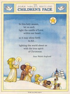 gold country girls: Joan Walsh Anglund Children's Pages