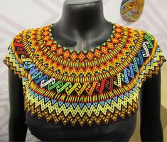 Beading Tutorials, Beading Patterns, Rope Jewelry, Jewellery, Beaded Necklace, Beaded Bracelets, Necklaces, Bead Crochet Rope, Beaded Collar
