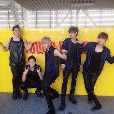 Baekho, Aron, Ren, JR, Minhyun NU'EST