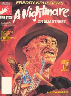 Freddy Krueger's A Nightmare on Elm Street magazine 01 (1989)