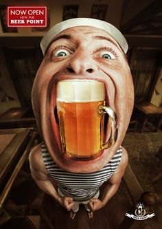 Creative Beer Ad