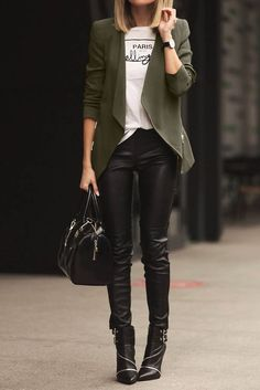 Obsessed with this super chic outfit!