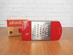 ShredAid 4in1 Kitchen Grater Shredder Slicer by FireflyVintageHome