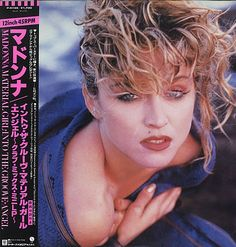 "madonna material girl  | Madonna Material Girl Japan Promo 12"" vinyl single (12"" record / Maxi ..."