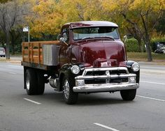 1954 GM Cab-Over-Engine 5700 Series Truck.