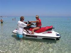 Experience some fun on a jet ski or  wave runner--or on this Sea-Doo!  Looks like fun!