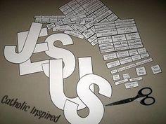 Holy Name of Jesus ~ Puzzle and Game {efile} ~ Catholic Inspired