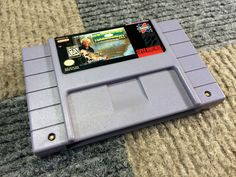 JIMMY HOUSTON'S BASS TOURNAMENT USA SUPER NINTENDO SNES GAME WORKS PERFECT CLEAN