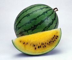Organic 15 Seeds Heirloom Watermelon Yellow Fruit par seedsshop, $1.99