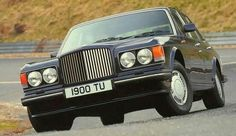 Bentley Turbo R  Demonstration or press vehicle 1990's with RR&B Motor co. Private Number 1900TU.