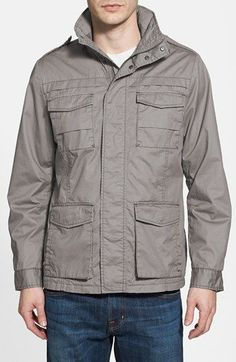 Jeremiah 'Thornton' Twill Utility Jacket available at #Nordstrom