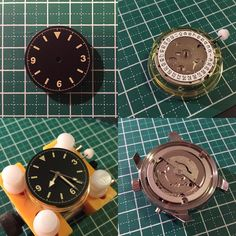 Couple imperfections on the dial and missing movement clamps/screws. Overall it went much smoother than expected     #watchmod #watchcommunity #watchesofinstagram #watchporn #watchgame #watchfam #wristshot #womw #wristgear #madebyme #custommade #jaegerlecoultre #tudor #longines #legenddiver #ranger #milsub #watchmania #watchoftheday #watchobsession #wristshot #wristporn #wristgame #jlc #practicalwatch #affordablewt #polaris #divewatch #supercompressor by wrist.bandit