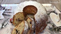 Bábovka s kúskami čokolády (videorecept) - recept | Varecha.sk Bagel, Bread, Food, Basket, Breads, Hoods, Meals, Bakeries