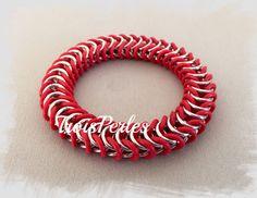 13  Chain Maille Armband  Chainmaille Bracelet von TroisPerles