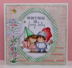 Honey Bootique: Stamping Bella- Fairy Tale Squidgies!