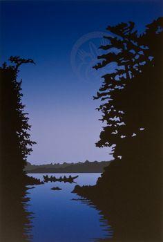 Eagle Aerie Gallery, The Art of Roy Henry Vickers Native American Artists, Canadian Artists, Easy Paintings, Original Paintings, Painting Prints, Art Prints, Block Prints, Haida Art, Wildlife Paintings