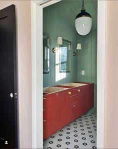 Green Bathroom Decor, Modern Bathroom Decor, Large Bathrooms, Beautiful Space, Master Bathroom, Pure Products, Attic, Nashville, Bliss