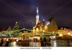 City Hall Square, Tallinn: Christmas :))))