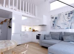 Tiny House, House Ideas, Couch, Bed, Interior, Inspiration, Furniture, Home Decor, Houses