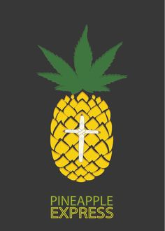 Pineapple Express (2008) ~ Minimal Movie Poster by David Peacock #amusementphile
