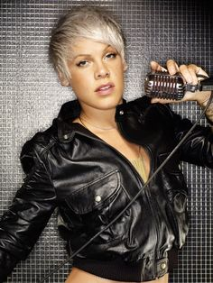 P!nk.... Holy crap. I wish I was as bad ass as her... Oh and having her body would be nice too :)