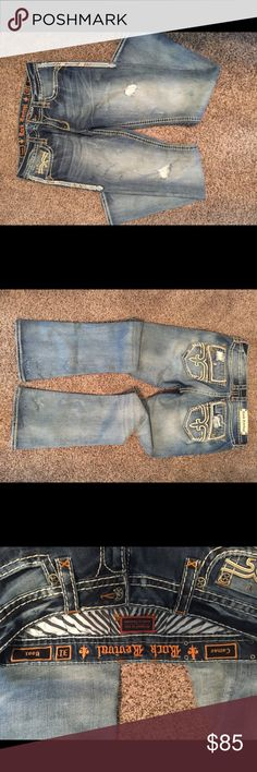 Rock Revival Jeans Rock Revival Cameo Boot Jeans. Waist 31.  Perfect condition. Rock Revival Jeans Boot Cut