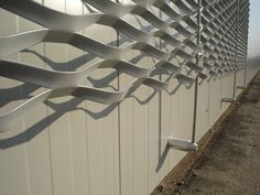 Panneau de facade en métal déployé, maille Brooklyn