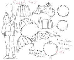 draw anime dress - Google Search