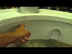 Tutorial How to make stone-structure in styrofoam - YouTube
