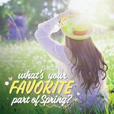 SPRING IS HERE and we're ready for some warmer weather to go along with all the wind! What are you looking forward to doing this spring?