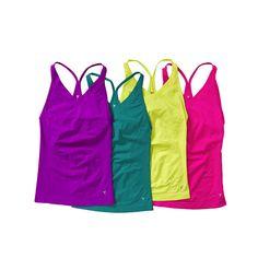 #Camisoles sans couture avec soutien-gorge intégré, d' #Old #Navy. Prix: 21.94$ chacune. Info: oldnavy.ca
