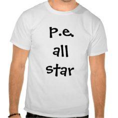 PE all star Tees