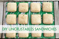 DIY Uncrustables Sandwiches