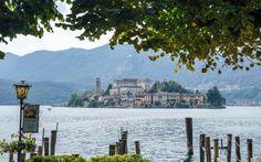 Explore Lake Orta in Italy's north. Close to lakes Maggiore and Como this pretty lake boasts a magical island and pretty medieval town