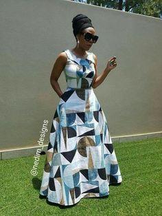 I really like latest african fashion look Latest African Fashion Dresses, African Dresses For Women, African Print Dresses, African Attire, African Wear, African Women, African Prints, African Style, Ankara Fashion