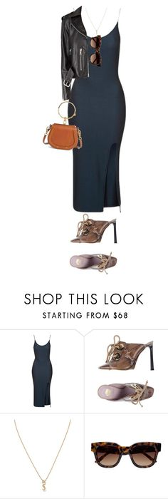 """""""Laugh as much as you choose, but you will not laugh me out of my opinion."""" by quiche ❤ liked on Polyvore featuring Topshop, Viktor & Rolf, Yves Saint Laurent, Sun Buddies and Chloé"""