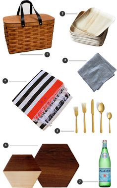 PICNIC ESSENTIALS via A House in the Hills