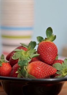 Strawberries are a big hit with kids and you could also dip them in chocolate as a healthy sweet treat. Starting Solids, Healthy Sweet Treats, Get Baby, Farm Yard, 2nd Birthday Parties, Strawberries, Breastfeeding, Dip, Chocolate