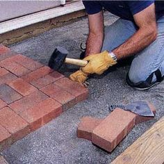 Lay an Appealing Brick Patio is fun ! Did you ever want to lay brick, block or pavers, well here is a great way to get the training. http://jackiesalsareup.com/brickmasonbest
