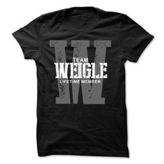 Awesome Tee Weigle team lifetime member ST44 T-Shirts