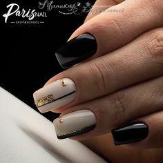 and Beautiful Nail Art Designs Fancy Nails, Trendy Nails, Cute Nails, Orange Nail Designs, New Nail Designs, Shellac Nails, My Nails, Classic Nails, Short Nails Art