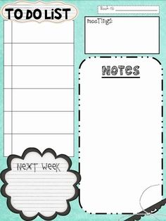 Things to Do List Template Awesome 10 to Do Lists as Pretty as they are Useful To Do Planner, Planner Pages, Printable Planner, Weekly Planner, College Planner, Printable Calendars, College Tips, Planner Template, Free Printables