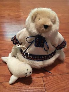 *Muffy Vanderbear~ Muffy of the North Eskimo and seal