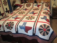 Texas Pride Quilt  @Jeanne Bright Stone