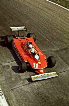 Jody Scheckter - Ferrari - 1979 Italian Grand Prix, Monza #ClassicF1 #F1